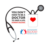 Mississippi Blood Services – Blood Drive This Week