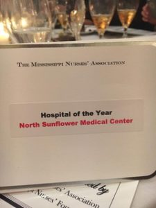 Mississippi Nurses' Association Hospital of the Year Nightingale Award